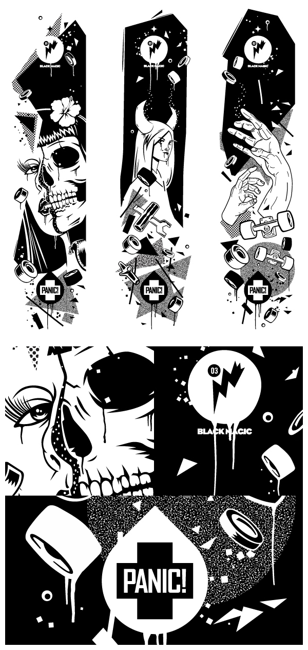 Panic! Black Magic by A1 Design