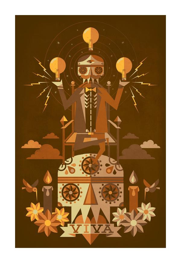 The great Nikola Tesla by jorsh pena
