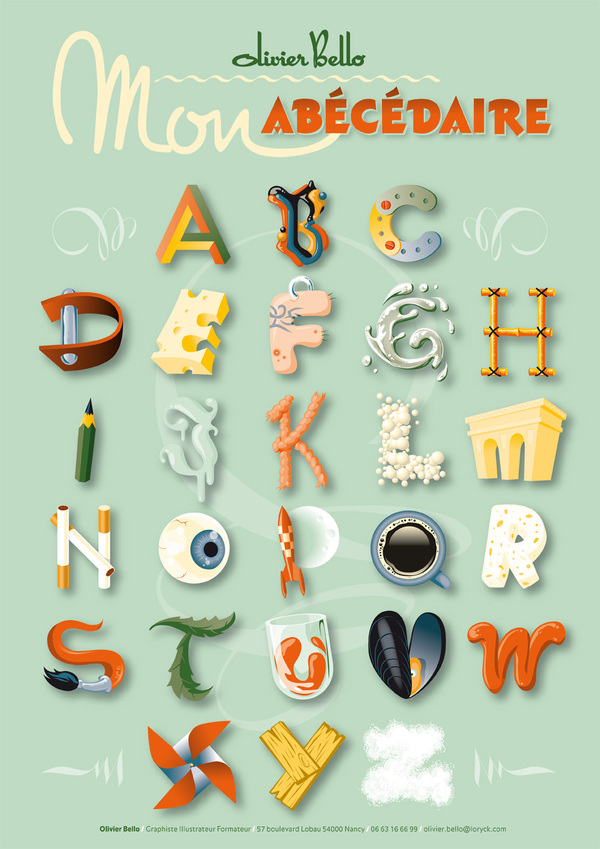 My ABC by Olivier Bello
