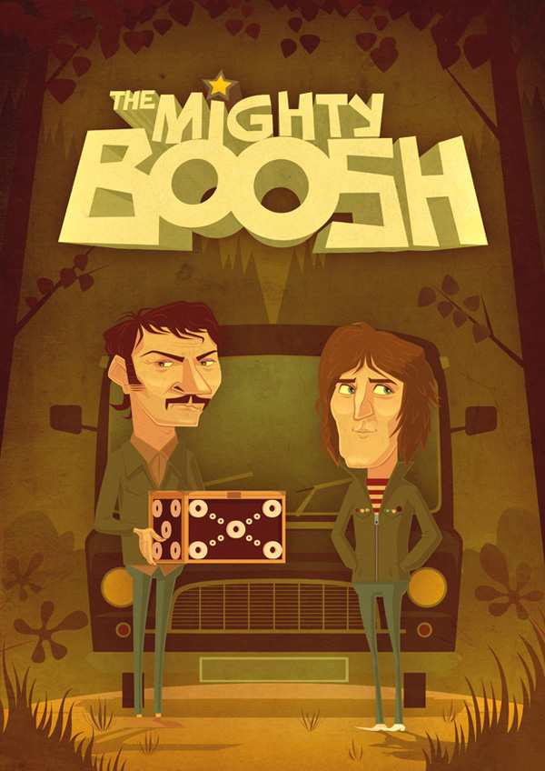 The Mighty Boosh by JAMES GILLEARD