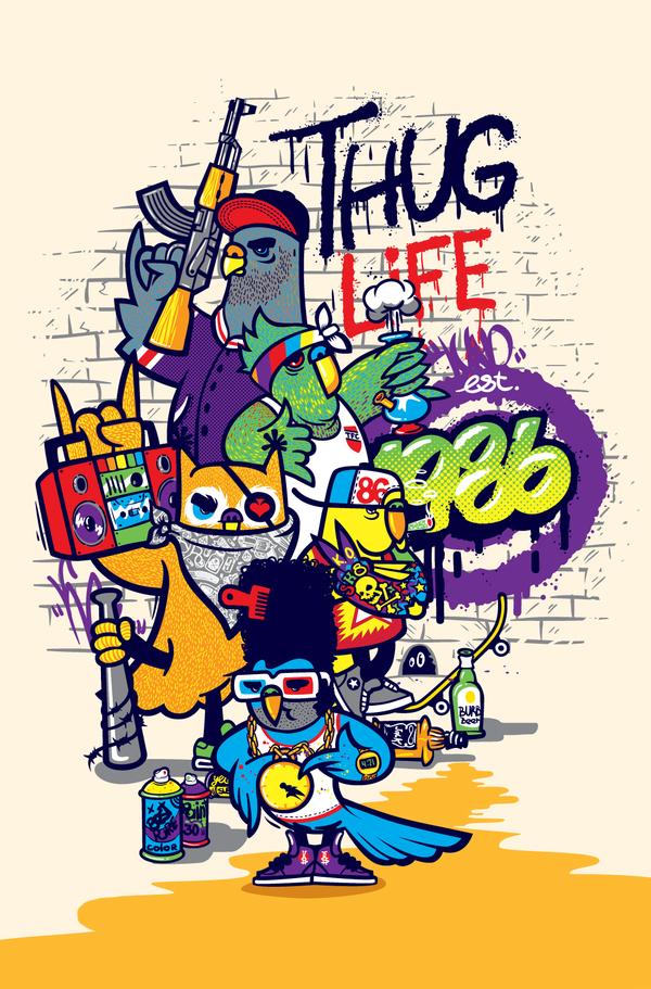 THUG LIFE by Konstantin Shalev
