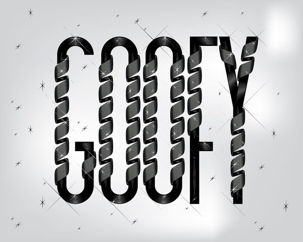 GOOFY x type treatments by YLLV . Karol Gadzala and YLLV . Karol Gadzala
