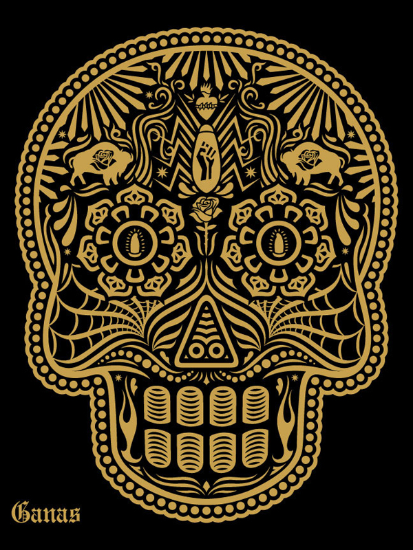 「Day of the Dead 2011〞 Art Print by Ernesto Yerena