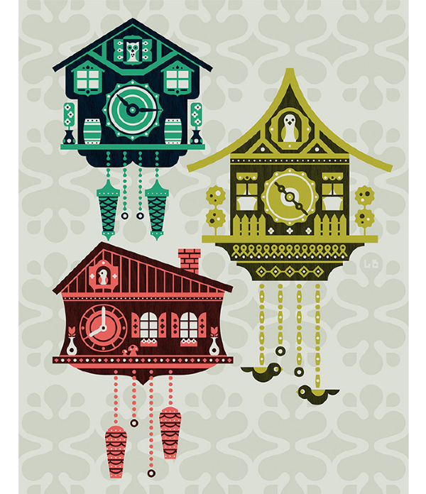 Cuckoo Clocks by Luke Bott