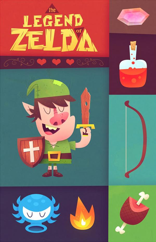 The Legend of Zelda by MATT KAUFENBERG
