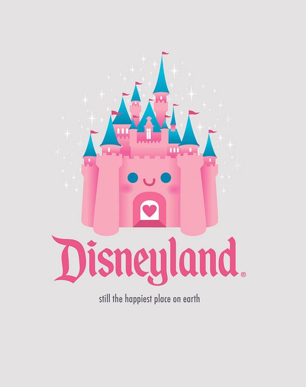 Kawaii Castle - Disneyland by Jerrod Maruyama