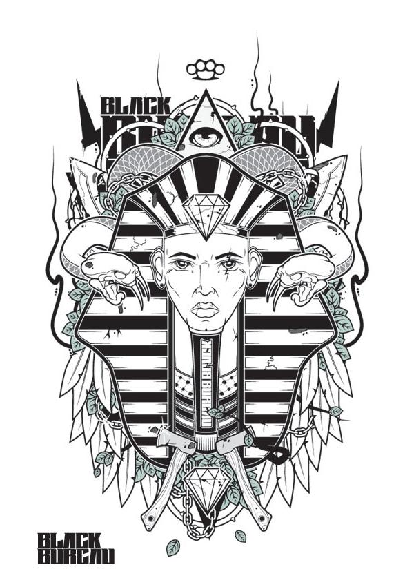 Black Bureau Collection | Ancient Times by EKCN