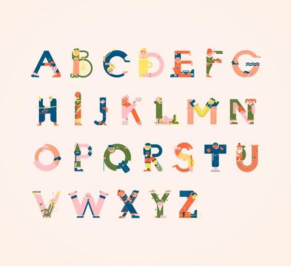 Alphabets by Vesa Sammalisto