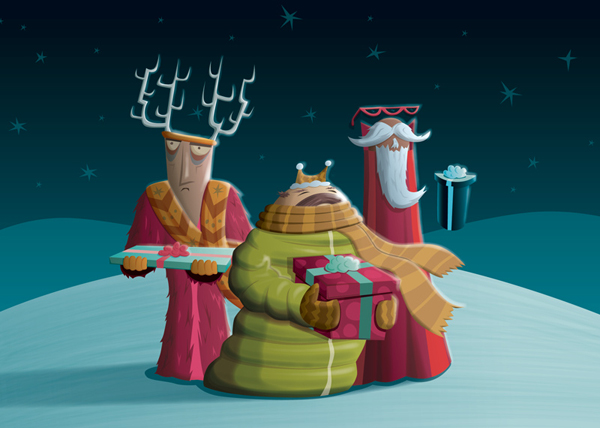 Wise Men by Chris Leavens