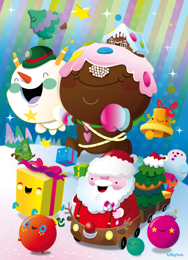 Merry Xmas 2011 by bubblefriends