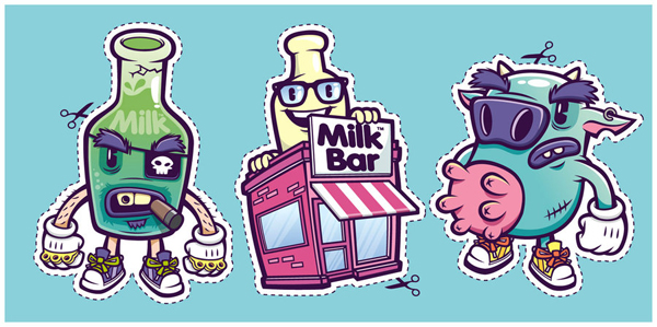 Down at the Milk Bar by cronobreaker