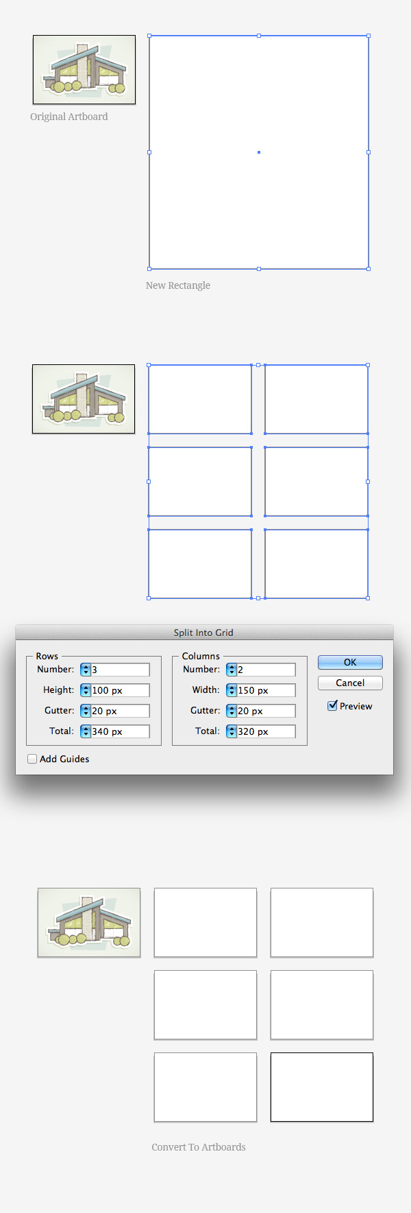 Quickly Create Artboards