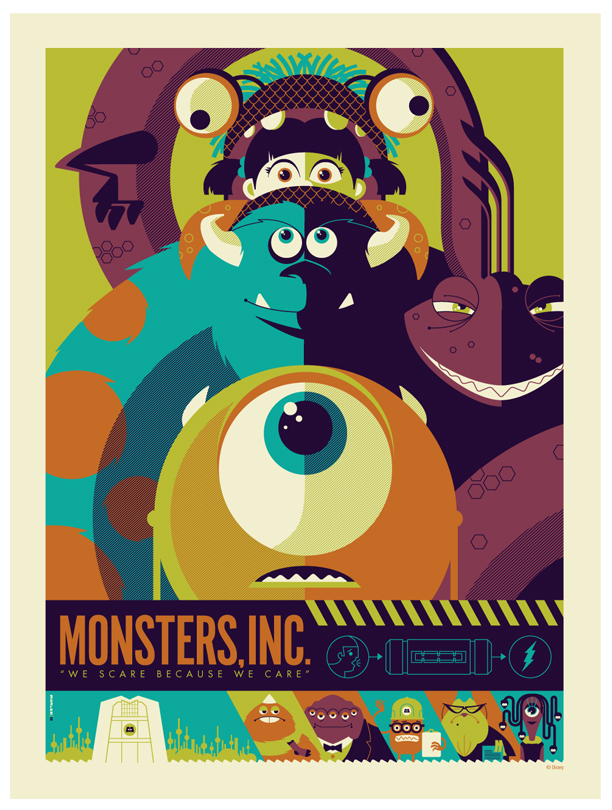 mondo: monsters inc.