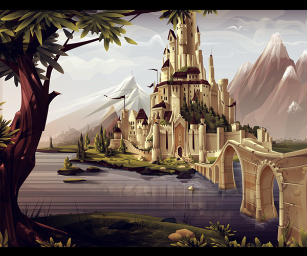 Castle environment 2010 by Ariel Icandri