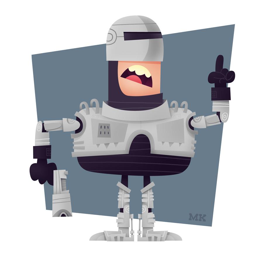 Robocop by Matt Kaufenberg