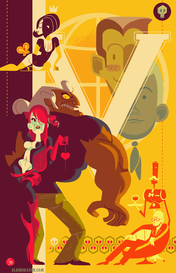 Venture Bros by Glen Brogan