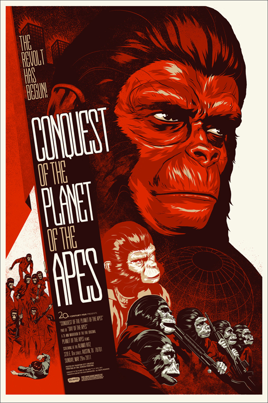 Battle for the Planet of the Apes by Florian Bertmer