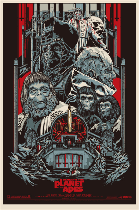 Escape from the Planet of the Apes by Rich Kelly