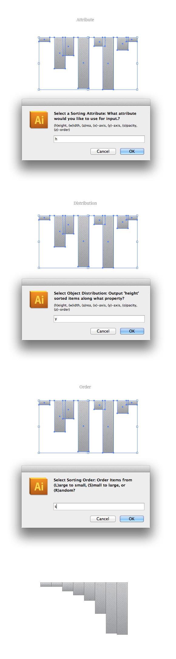 Organize Illustrator Script