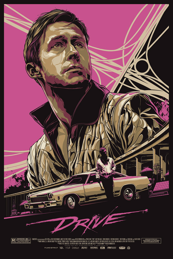 Drive Poster by Ken Taylor