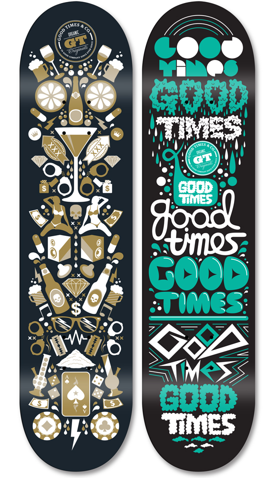 Good Times & Co. Decks by Killstudio