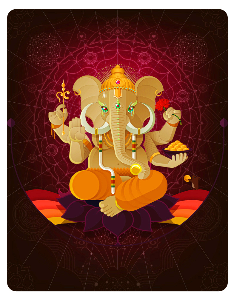 Ganesha | Animal Gods by juancasini