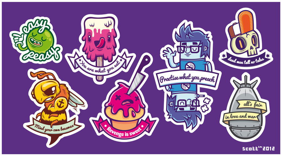 Proverb Vector Tattoos by cronobreaker