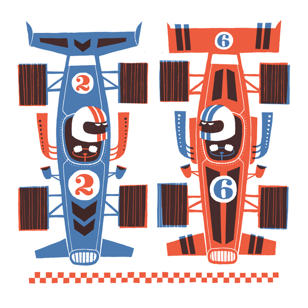 Racecars by Esther Aarts