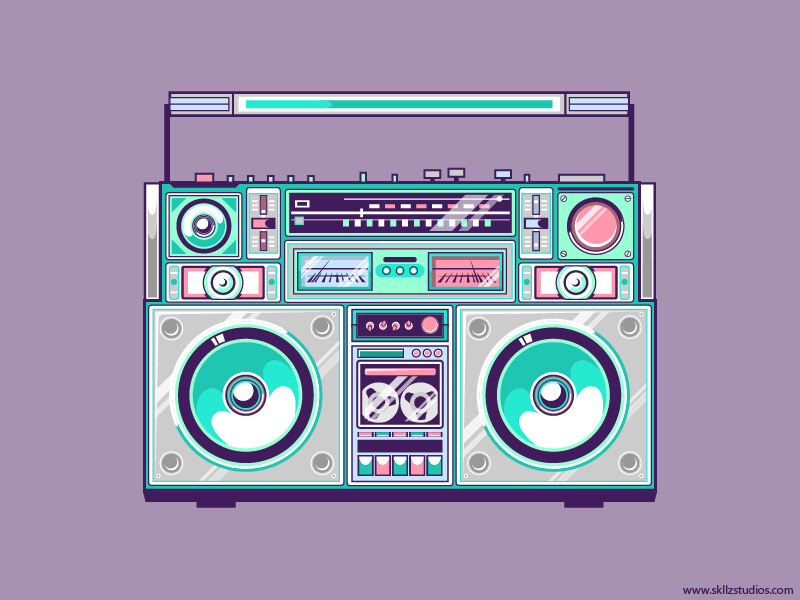 Ghetto Blaster by exarock
