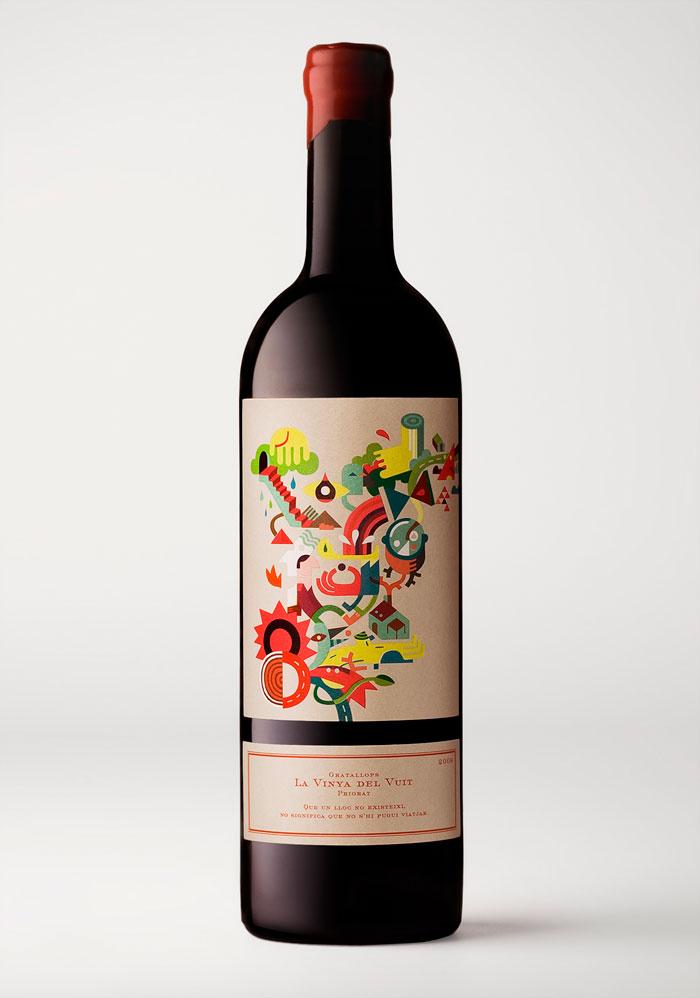 La vinya del vuit Wine by Joan Josep Bertran