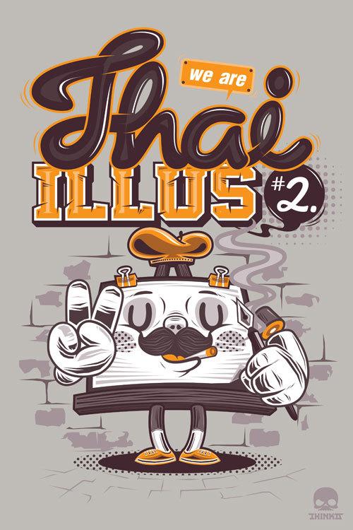 Thaiillus#2 by Jira Jiramakorn