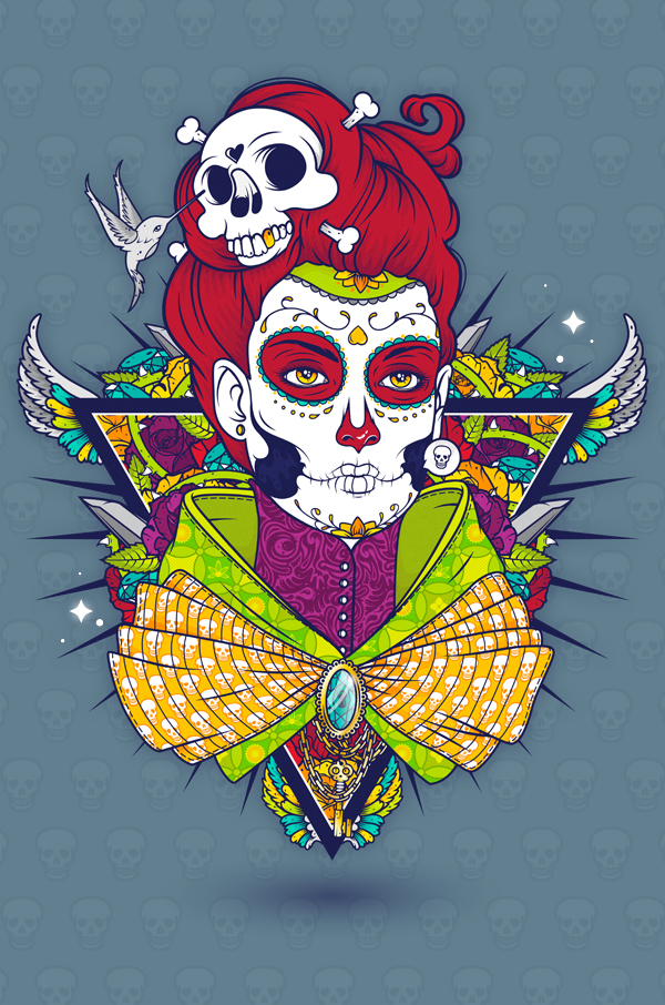 Dia De Muertos by Mnk Crew
