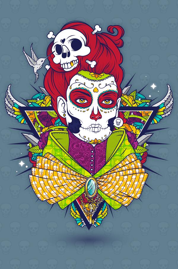 Dia De Muertos by Mnk Crew