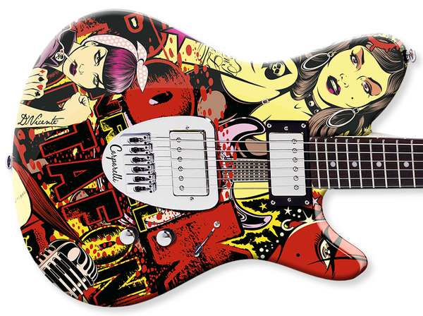Mike Carparelli Guitars - US by DAVID VICENTE