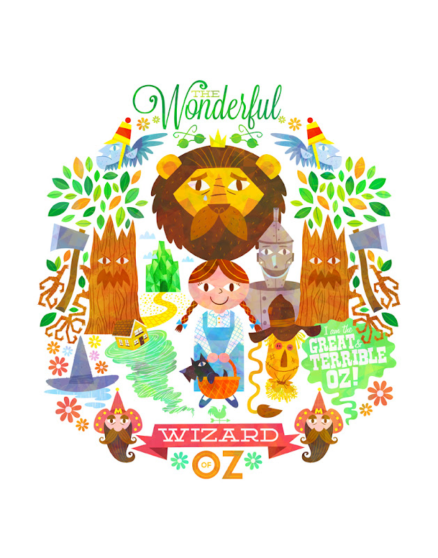 Wizard of Oz by Matt Kaufenberg