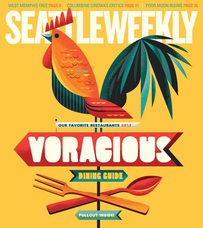 Seattle Weekly by Invisible Creature