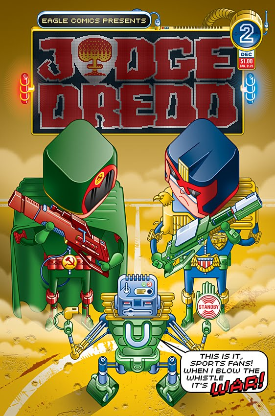 Judge Dredd 2 by Lee Hasler