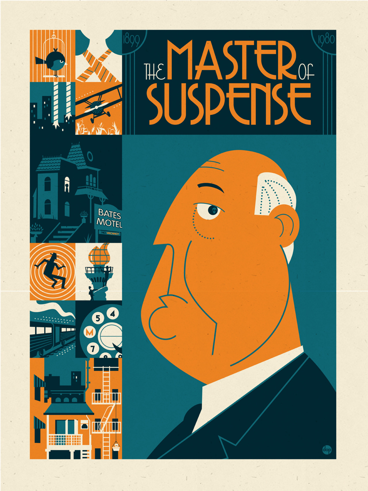 The Master of Suspense by Dave Perillo