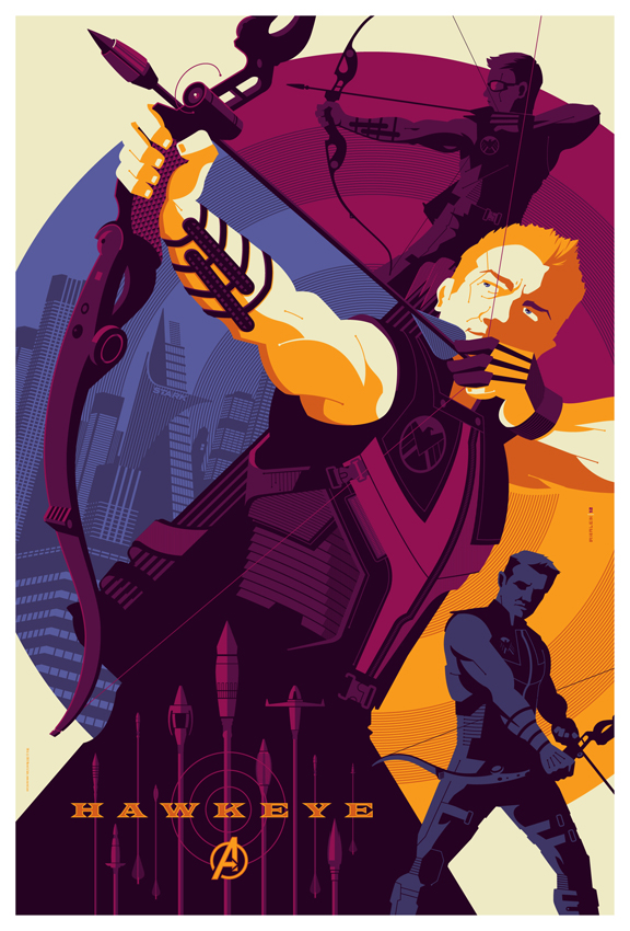 mondo: avengers: hawkeye by strongstuff