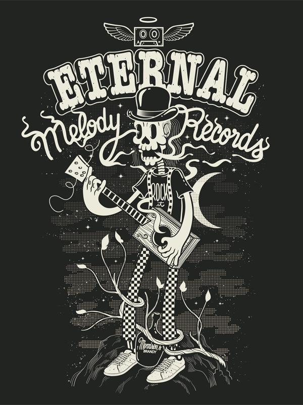 Eternal Melody records by John Duvengar