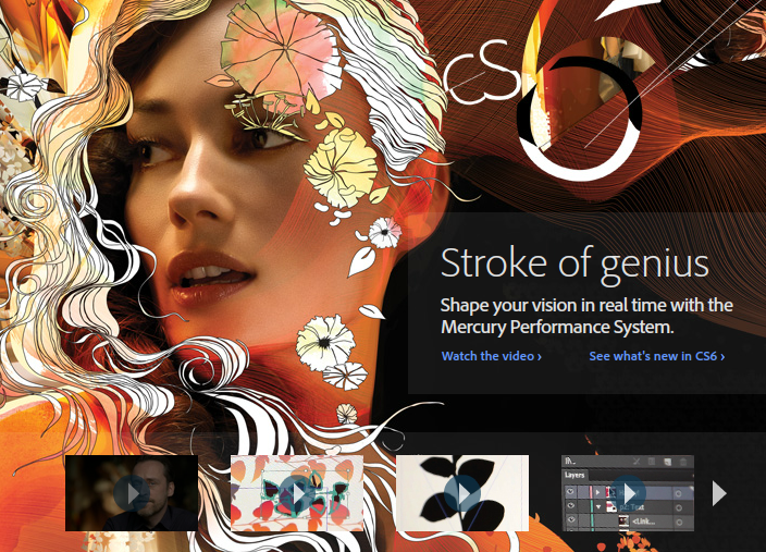 Illustrator CS6 Mecury Program