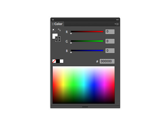 Illustrator CS6 Color panel enhancements