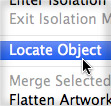 Quickly Locate Objects in Sublayers