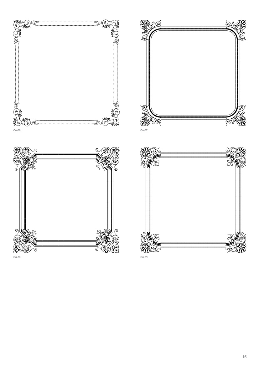 Frames Borders