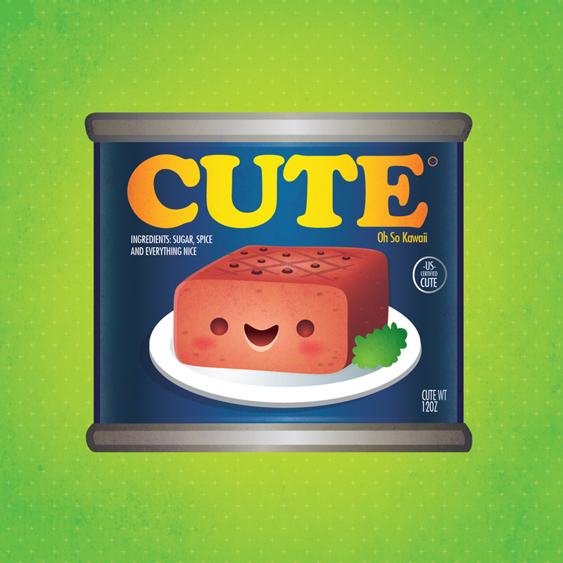 Kawaii Luncheon Meat by Jerrod Maruyama