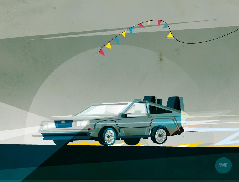 DeLorean by Monfa