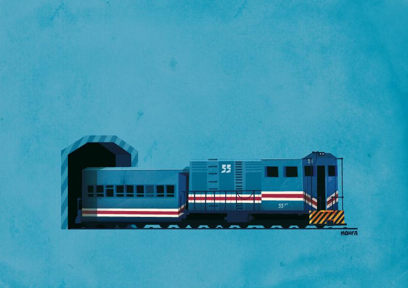 Ferrocarril by Monfa
