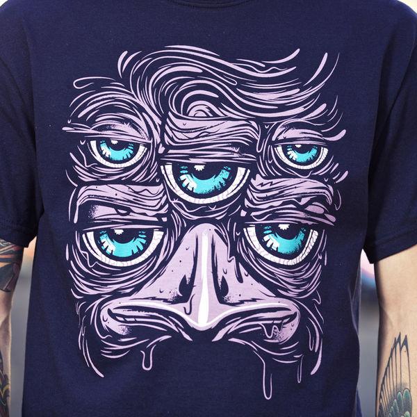 Australian Invasion Tshirt Series by Travis Price