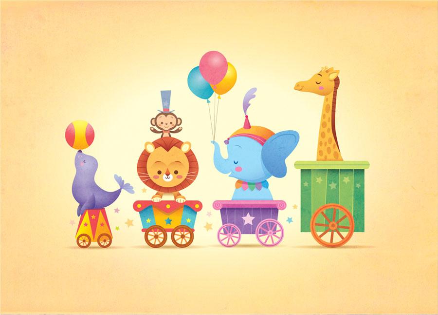Kawaii Circus Parade by Jerrod Maruyama