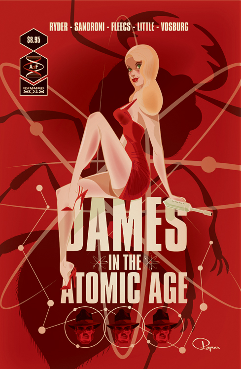 Dames Of The Atomic Age by BrandonRagnar